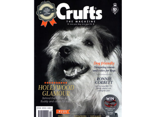 Crufts Magazine March 2013 Waggo Colorful Dog Gifts
