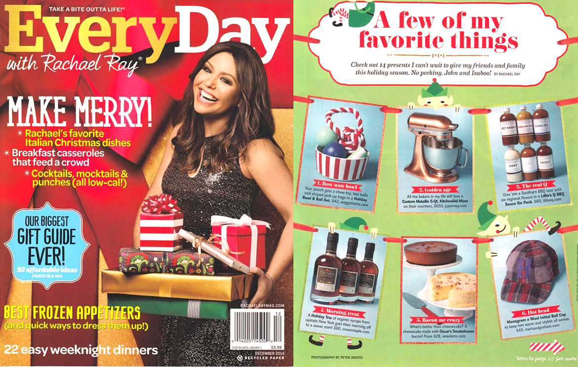 Everyday With Rachael Ray November 2014 Modern Red Dog Gifts