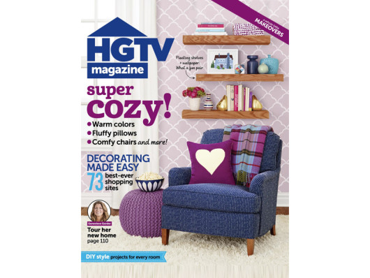 HGTV Magazine October 2014 Classic Cotton Dog Bed