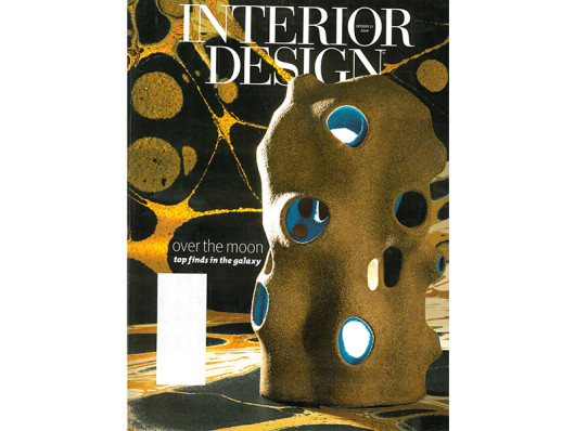 Interior Design Magazine November 2014 Waggo Home Hand painted Ceramic Tableware