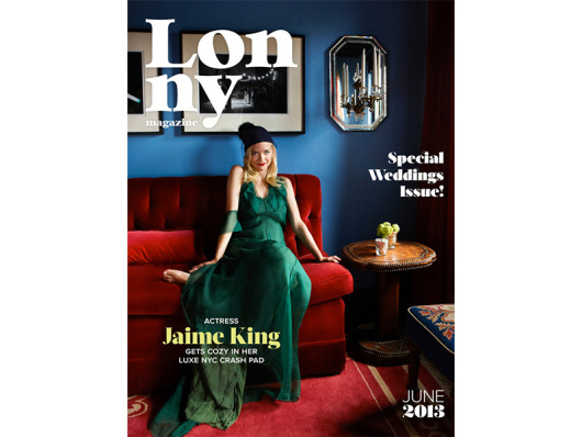 Lonny Magazine June 2013 Custom Monogrammed Dog Bed