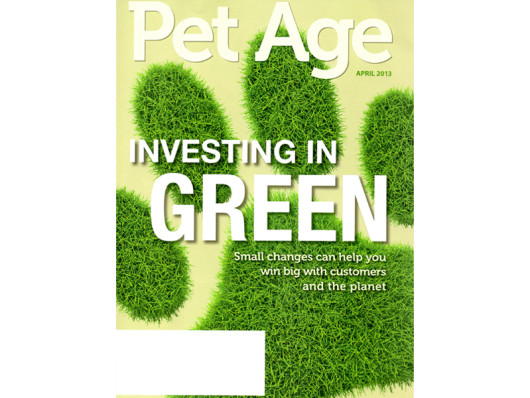 Pet Age Magazine April 2013 Waggo Designer Dog Products
