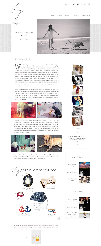 TheTig.Com October 2014 Waggo Nautical Rubber Dog Gifts