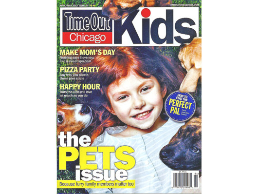 Timeout Chicago Kids Magazine April 2013 Waggo Paperclip Dog Toy