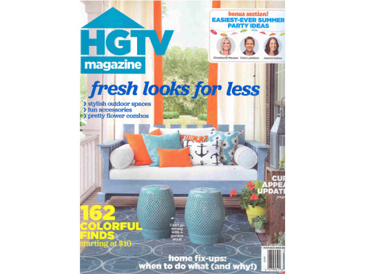 Waggo Press Clipping HGTV Magazine July 2015