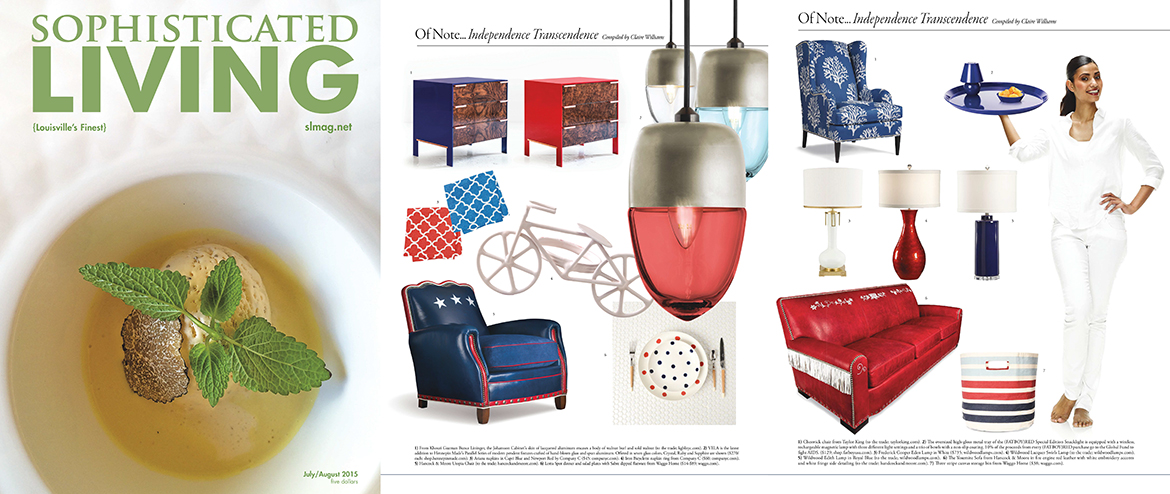 Sophisticated Living July 2015