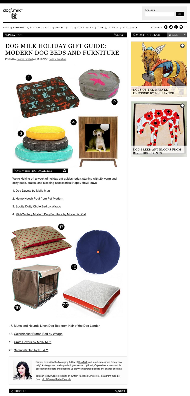 Waggo Designer Dog Beds