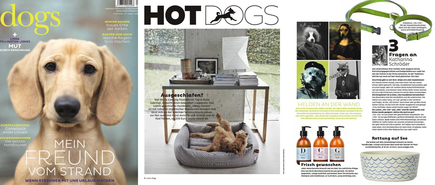 Dogs Magazine Press July 2015