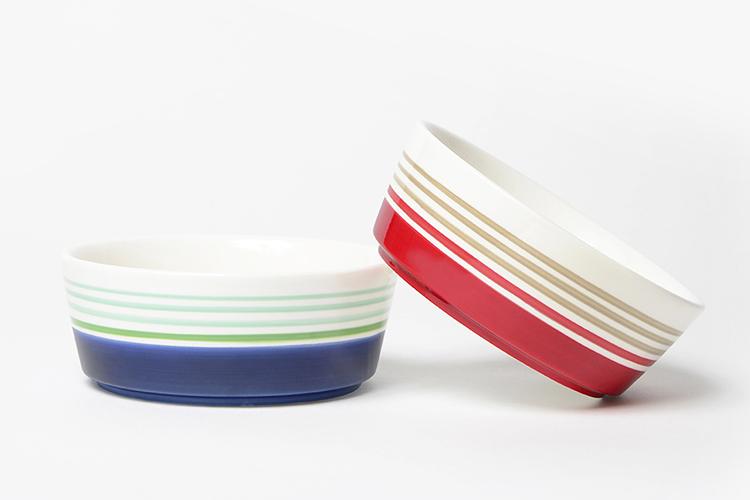Skinny Dip Ceramic Dog Bowls