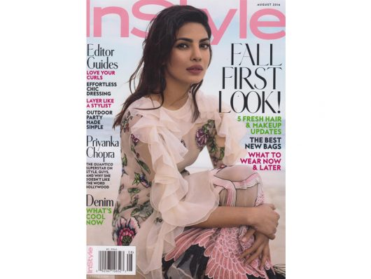 InStyle August 2016
