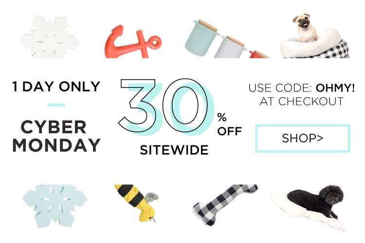 Cyber Monday Sale - Designer Dog Products