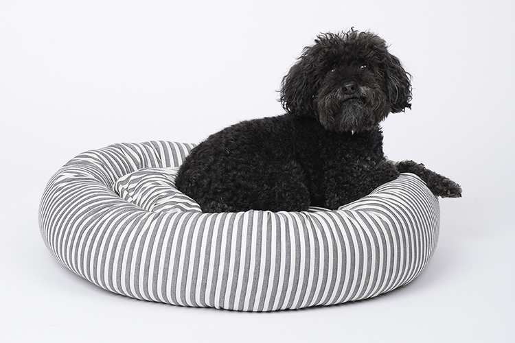 Sweater Stripe Designer Dog Beds