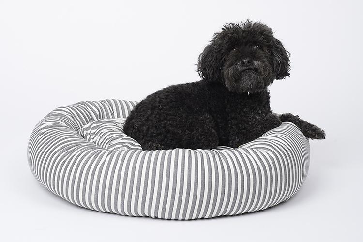 Sweater Stripe Designer Dog Beds