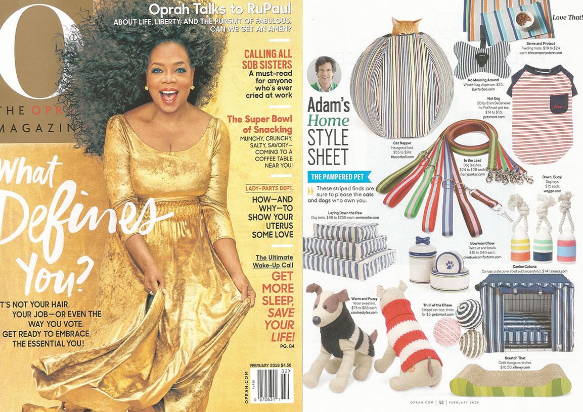 Oprah Magazine x Waggo Dog Toys